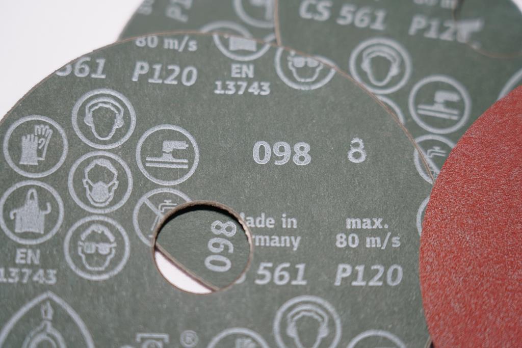 صفحه سنباده دیسکی مینی P120