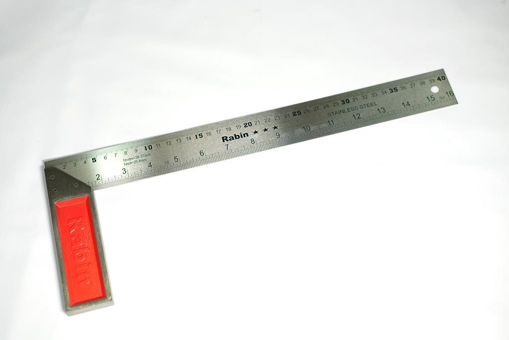 گونیا استیل 40 سانتیمتر رابین
